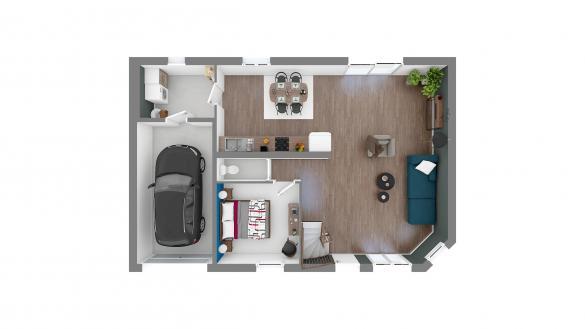 Maison+Terrain à vendre .(102 m²)(BRIE COMTE ROBERT) avec (MAISONS.COM)
