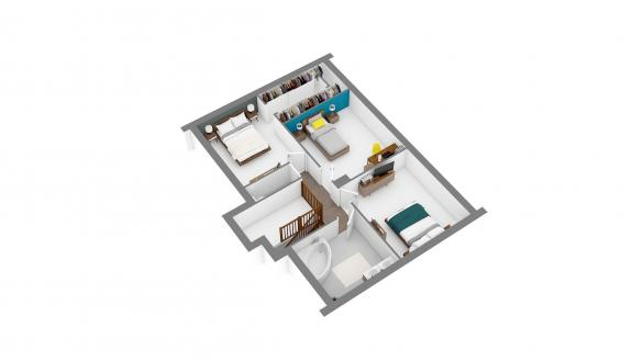 Maison+Terrain à vendre .(114 m²)(COURPALAY) avec (MAISONS.COM)