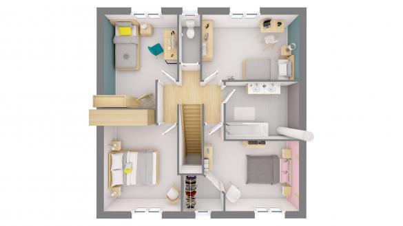 Maison+Terrain à vendre .(93 m²)(MORMANT) avec (MAISONS.COM)