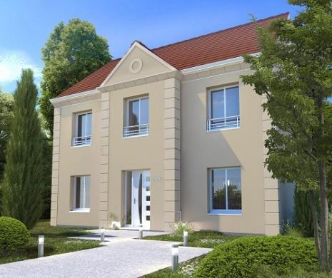 Maison+Terrain à vendre .(128 m²)(SAINT JEAN LES DEUX JUMEAUX) avec (MAISONS.COM)