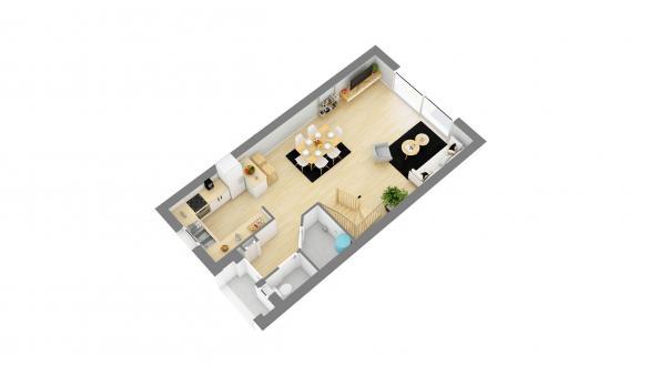 Maison+Terrain à vendre .(86 m²)(LONGPONT SUR ORGE) avec (MAISONS.COM)