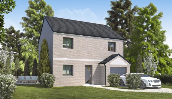 Maison+Terrain à vendre .(86 m²)(LAVAL EN BRIE) avec (MAISONS.COM)