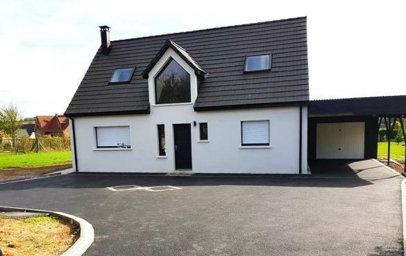 Maison+Terrain à vendre .(110 m²)(GUIGNES) avec (MAISONS.COM)