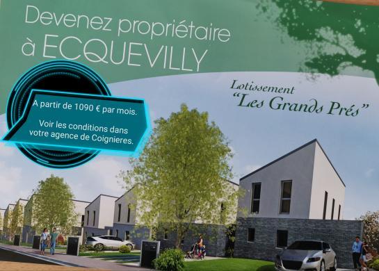 Maison+Terrain à vendre .(124 m²)(ECQUEVILLY) avec (MAISONS.COM)