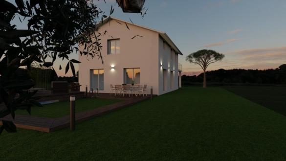 Maison à vendre .(101 m²)(SAINT MARCEL BEL ACCUEIL) avec (TRADICONFORT BOURGOIN)