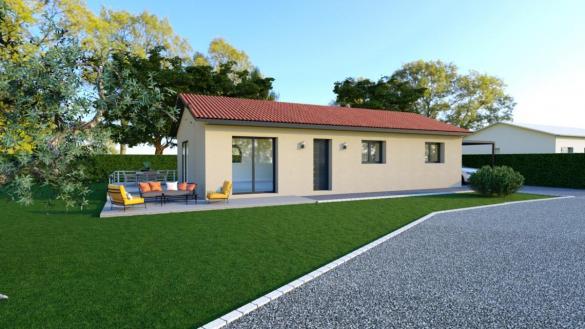 Maison à vendre .(101 m²)(VIENNE) avec (TRADICONFORT BOURGOIN)