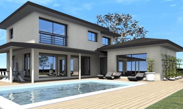 Maison à vendre .(120 m²)(VIENNE) avec (TRADICONFORT BOURGOIN)