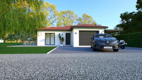 Maison à vendre .(100 m²)(DIEMOZ) avec (TRADICONFORT BOURGOIN)
