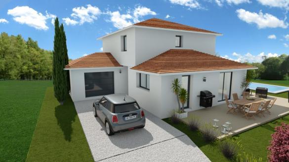 Maison à vendre .(105 m²)(PANOSSAS) avec (TRADICONFORT BOURGOIN)