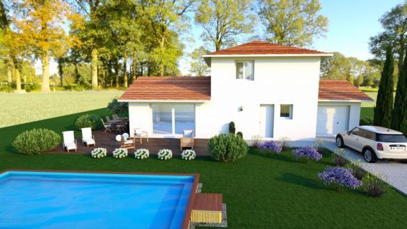 Maison à vendre .(101 m²)(SAINT CHEF) avec (TRADICONFORT BOURGOIN)