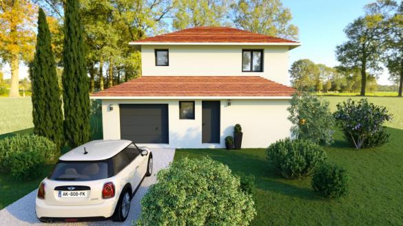 Maison à vendre .(105 m²)(MORESTEL) avec (TRADICONFORT BOURGOIN)