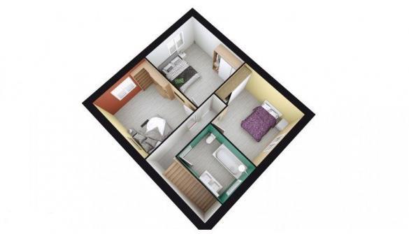 Maison à vendre .(90 m²)(AUBONNE) avec (TRADITION LOGIS NORD EST)