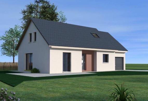 Maison à vendre .(110 m²)(CHAPELLE D'HUIN) avec (TRADITION LOGIS NORD EST)