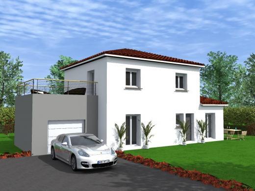 Maison à vendre .(121 m²)(MONCLEY) avec (TRADITION LOGIS NORD EST)