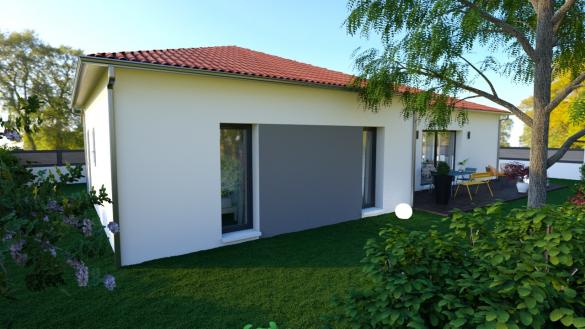 Maison+Terrain à vendre .(90 m²)(BRIVES CHARENSAC) avec (MAISONS D EN FRANCE - MONISTROL SUR LOIRE)