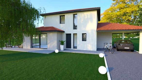 Maison à vendre .(101 m²)(BELLEGARDE EN FOREZ) avec (COTRIN 42)