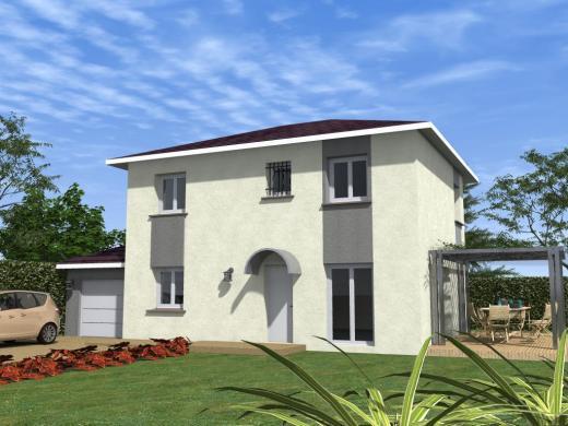 Maison à vendre .(115 m²)(GENAS) avec (COTRIN 69)