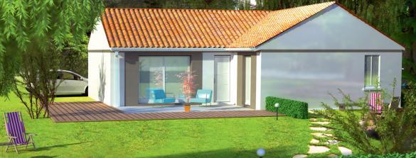 Maison+Terrain à vendre .(92 m²)(BELIN BELIET) avec (LEADER HABITAT)