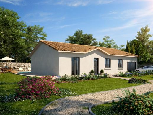 Maison+Terrain à vendre .(91 m²)(HAUTE RIVOIRE) avec (MAISONS PUNCH)