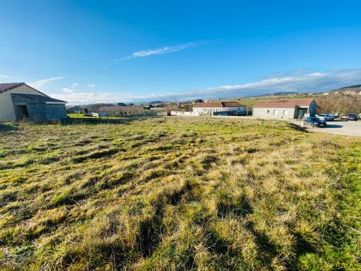Terrain à vendre .(1000 m²)(ETABLES) avec (IMMOVIA CONSTRUCTEUR)