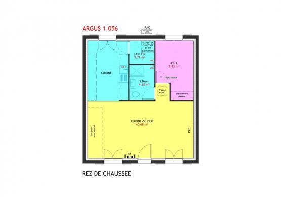 Maison à vendre .(56 m²)(SAINT JEAN LE BLANC) avec (MAISONS PIERRE ORLEANS SUD)
