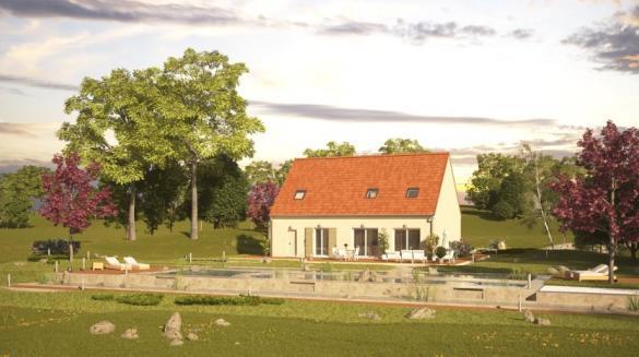 Maison à vendre .(128 m²)(ORLEANS) avec (MAISONS PIERRE)