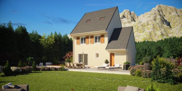 Maison à vendre .(109 m²)(ORLEANS) avec (MAISONS PIERRE)