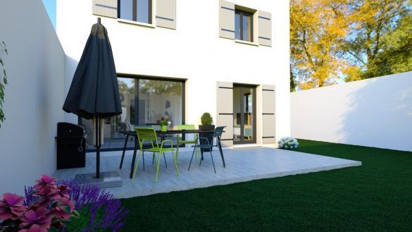 Maison+Terrain à vendre .(92 m²)(SAUVETERRE) avec (MAISONS PUNCH)