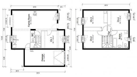 Maison+Terrain à vendre .(91 m²)(NOVES) avec (MAISONS PUNCH)