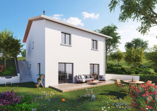 Maison+Terrain à vendre .(93 m²)(SORGUES) avec (MAISONS PUNCH)