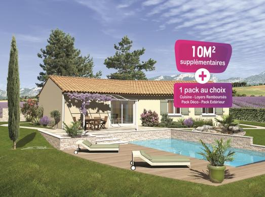 Maison+Terrain à vendre .(86 m²)(SAINT JULIEN DE PEYROLAS) avec (MAISONS PUNCH)