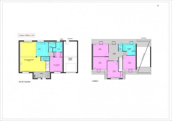 Maison à vendre .(139 m²)(ERGUE GABERIC) avec (MAISONS PIERRE)