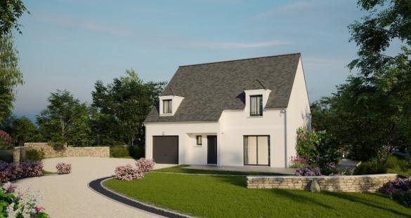 Maison à vendre .(132 m²)(FOUESNANT) avec (MAISONS PIERRE)