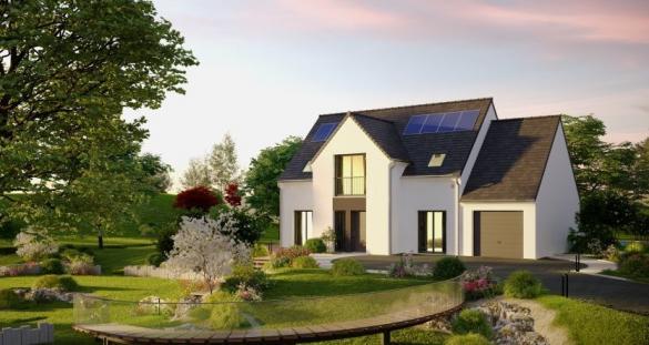Maison à vendre .(124 m²)(LOCTUDY) avec (MAISONS PIERRE)
