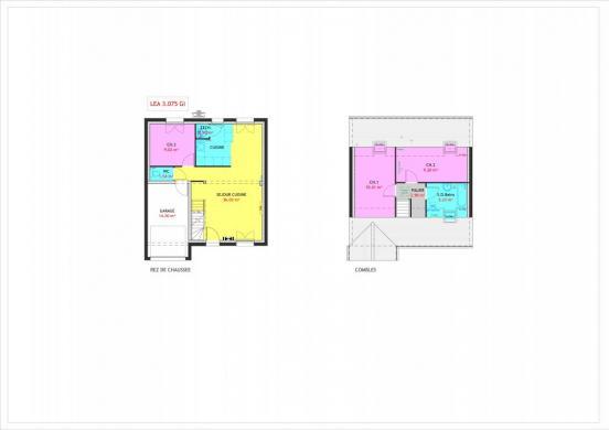 Maison à vendre .(75 m²)(PLOUHINEC) avec (MAISONS PIERRE)