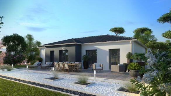 Maison à vendre .(98 m²)(LANDUDAL) avec (MAISONS PIERRE)