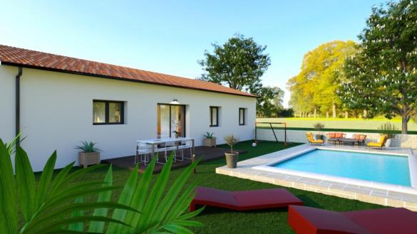 Maison à vendre .(90 m²)(TECOU) avec (TRADICONFORT 81)