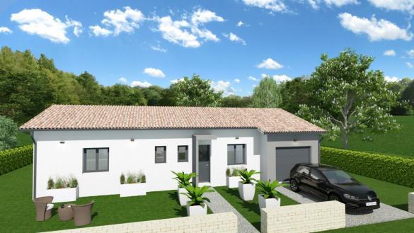 Maison à vendre .(80 m²)(SAIX) avec (TRADICONFORT 81)