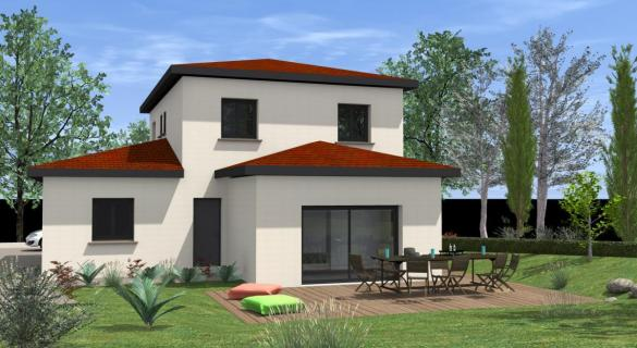 Maison à vendre .(100 m²)(SAINT JORY) avec (TRADICONFORT 31)