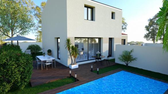 Maison à vendre .(105 m²)(BESSIERES) avec (TRADICONFORT 31)