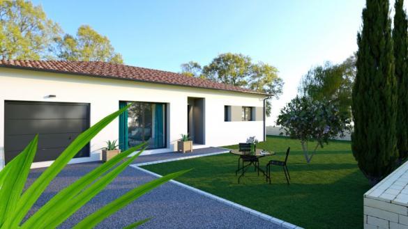 Maison à vendre .(90 m²)(GRAGNAGUE) avec (TRADICONFORT 31)