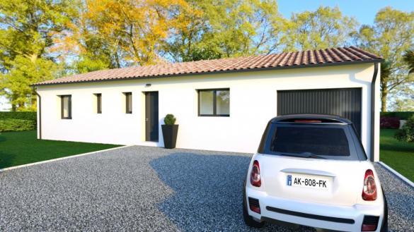 Maison à vendre .(90 m²)(GRISOLLES) avec (TRADICONFORT 31)