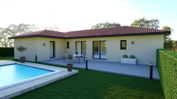 Maison à vendre .(90 m²)(POMPIGNAN) avec (TRADICONFORT 31)