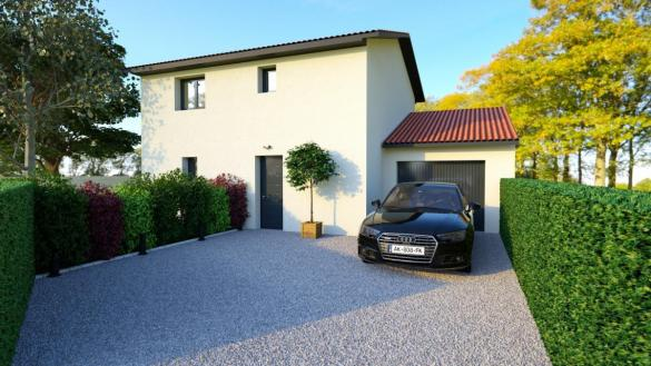 Maison à vendre .(100 m²)(BAZIEGE) avec (TRADICONFORT 31)