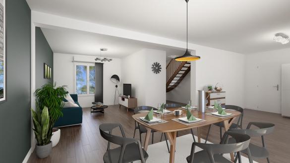 Maison+Terrain à vendre .(123 m²)(LES MUREAUX) avec (MAISONS.COM)