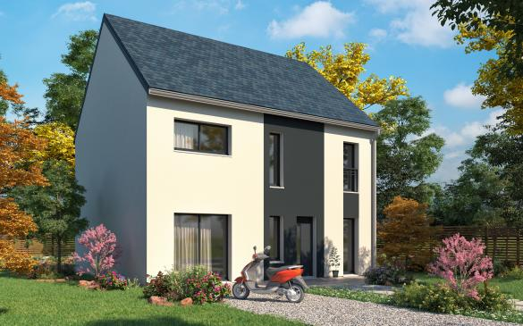 Maison+Terrain à vendre .(129 m²)(ROSNY SUR SEINE) avec (MAISONS.COM)
