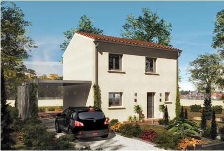 Maison à vendre .(86 m²)(CHATEAUNEUF DE GADAGNE) avec (MAISONS COTE SOLEIL SUD EST)