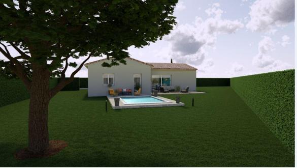 Maison à vendre .(91 m²)(BOLLENE) avec (MAISONS COTE SOLEIL SUD EST)
