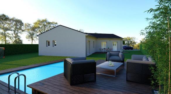 Maison à vendre .(86 m²)(LAUDUN) avec (MAISONS COTE SOLEIL SUD EST)