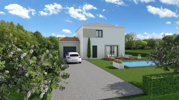 Maison à vendre .(140 m²)(SORGUES) avec (TRADICONFORT SUD EST)